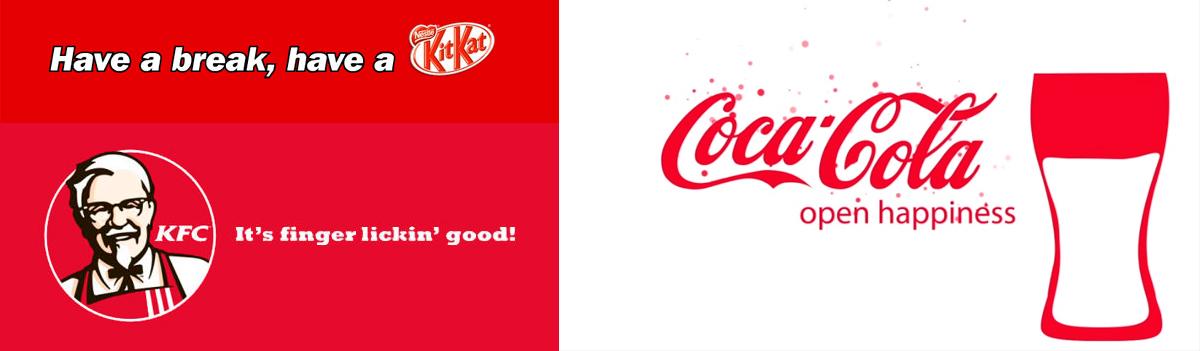 рекламный слоган мировых брендов