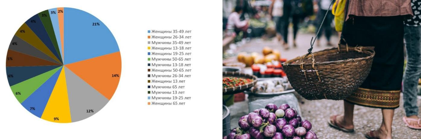 Анализ целевой аудитории рынка замороженных ягод