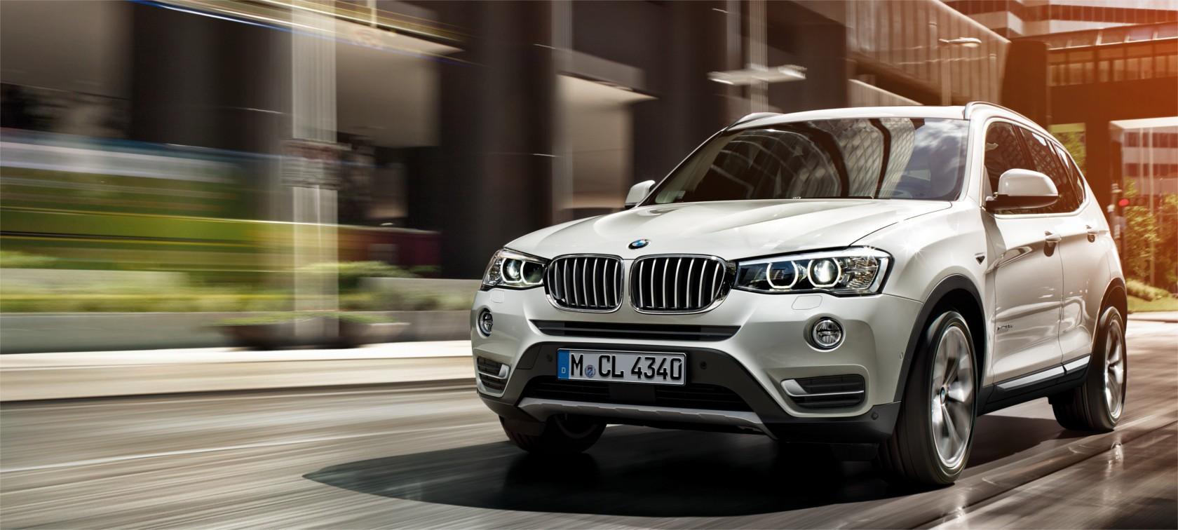 BMW X3 как объект товарной рекламы