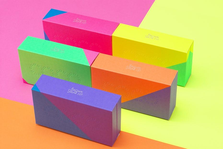 разработка дизайна коробки
