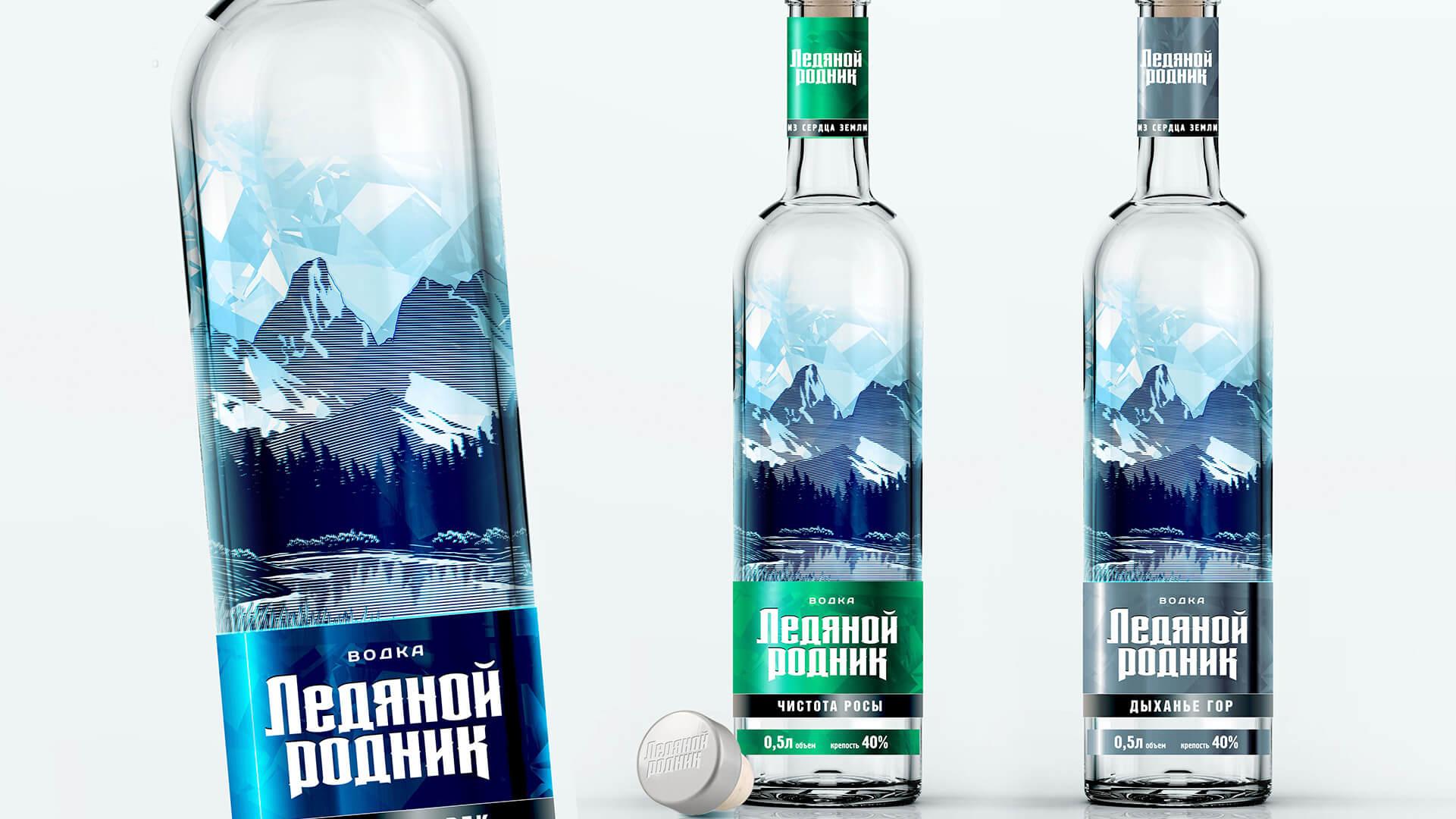 Дизайн водки от