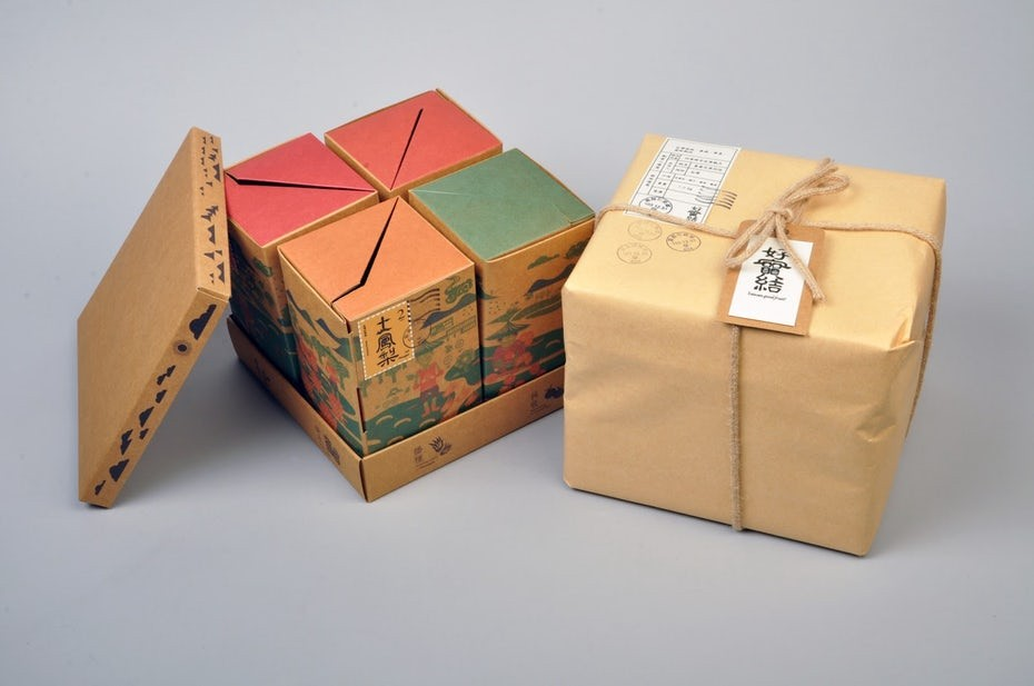 Картинки необычных коробок