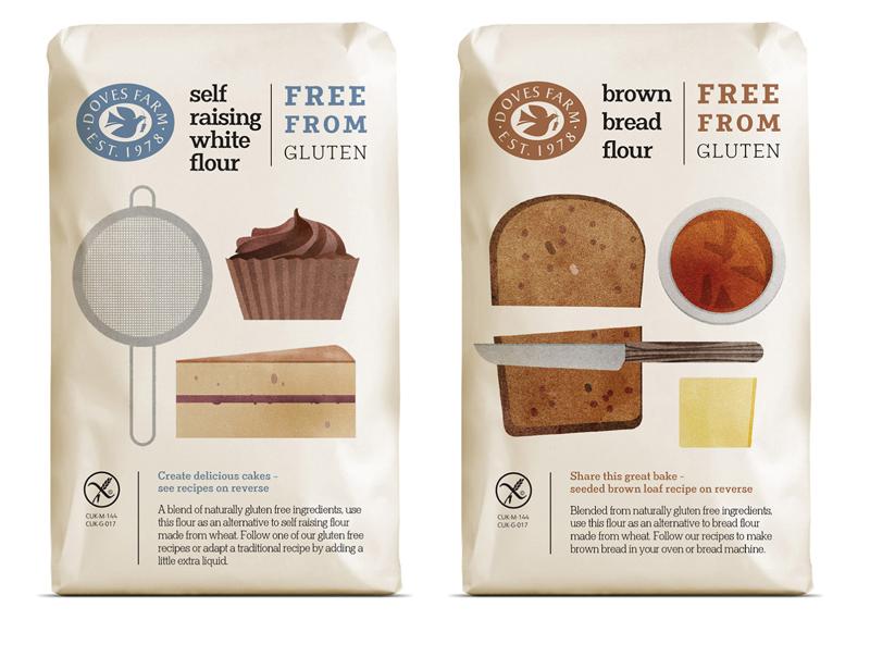 упаковка для сыпучих продуктов, дизайн упаковки, крупы, каши, сахар