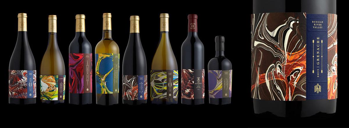 Дизайн этикетки вина - пример 1