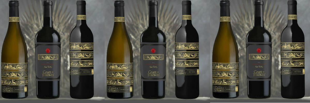 Дизайн этикетки вина - Game of Thrones