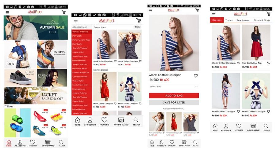 создание дизайна интернет-магазина