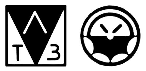 Логотипы советской техники завода «Электрон»