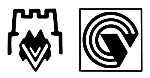 Ретро-логотипы советской техники Вильнюсского завода «Вильма»