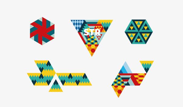 Логотип и набор паттернов