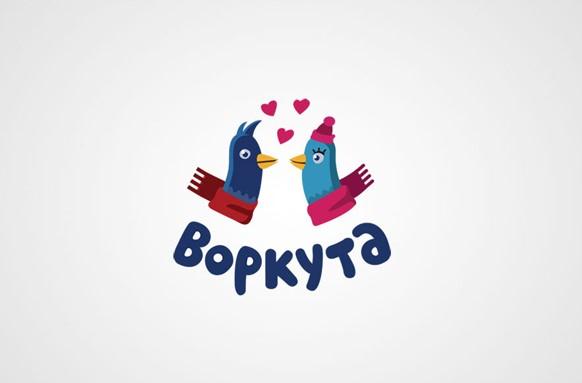Логотип Воркуты