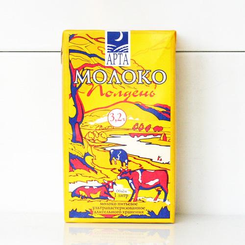 Упаковка молока «АРТА»
