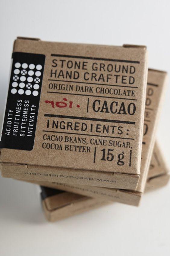 Упаковка плитки шоколада