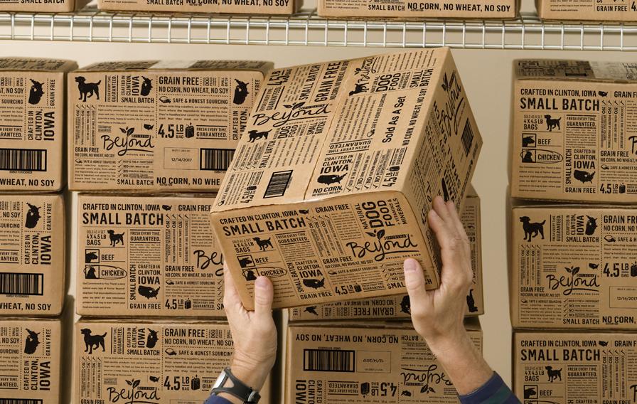 Упаковка корма для животных ТМ Purina