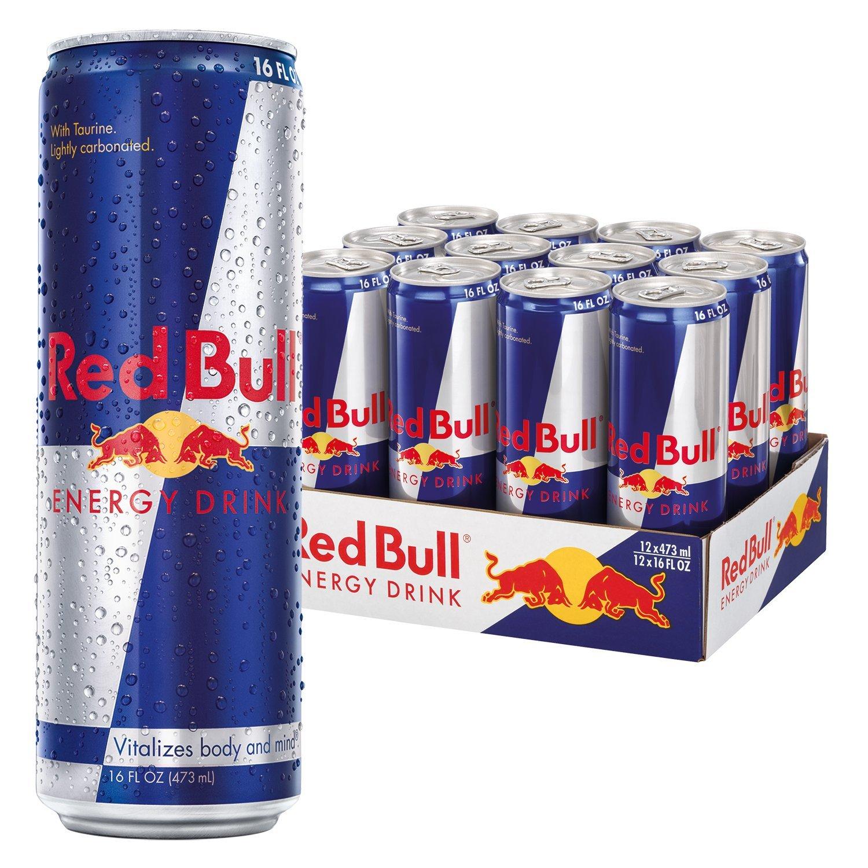 Дизайн упаковки энергетика Red Bull