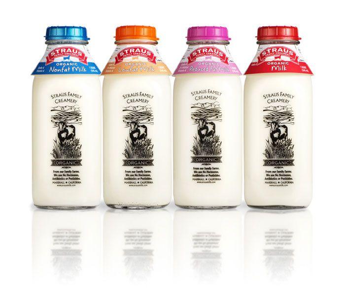 Молоко Straus Family Creamery
