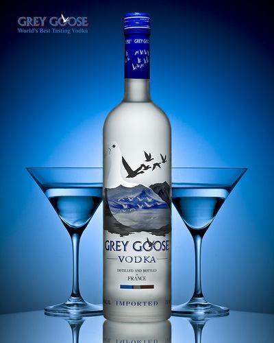 Этикетка водки Grey Goose