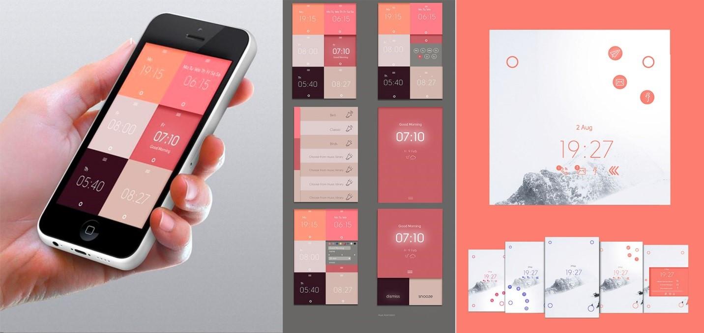 Веб-дизайн мобильных приложений